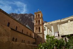 Church and museum of St Catherine's Monastery Royalty Free Stock Photography