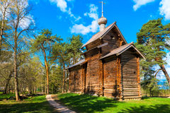 Church in the Museum of Wooden Architecture Stock Photo