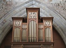 Church Music Organ. Royalty Free Stock Photography