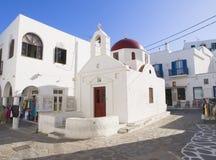 Church in Mykonos Royalty Free Stock Photo