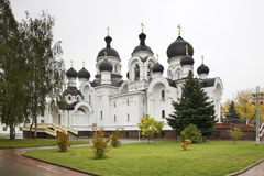 Church of the Myrrh-bearers in Baranovichi. Belarus Royalty Free Stock Images