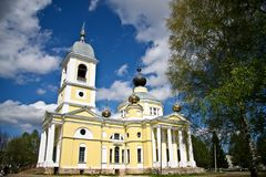 Church in Myshkin Stock Photography