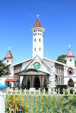 "Church in Nabire. Christian church ""Gereja Kristen Injili di Tanah Papua"" in Nabire (Papua, Indonesia Stock Photos"