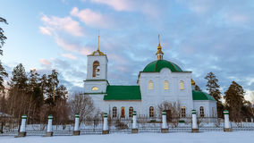 The Church in the name of Grand Prince Vladimir, the city of Asbest, Urals, Russia Royalty Free Stock Photography