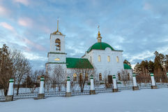 The Church in the name of Grand Prince Vladimir, the city of Asbest, Urals, Russia Royalty Free Stock Photos