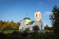The Church in the name of Grand Prince Vladimir, the city of Asbest, Urals, Russia Stock Images