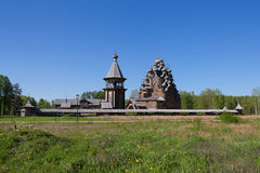 The Church in the name of the Holy virgin. On the territory of the Park complex the Bogoslovka Royalty Free Stock Images
