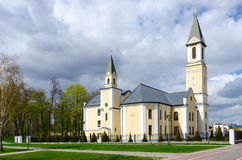 Church of Nativity of Blessed Virgin Mary, Gomel, Belarus Stock Image