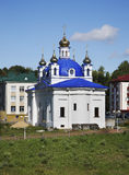 Church of Nativity of Blessed Virgin Mary in Orsha. Belarus Stock Images