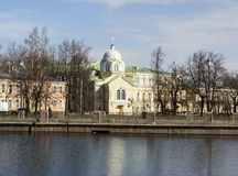 Church of the Nativity of the Blessed Virgin. Pushkin. (Tsarskoye Selo). Russia. Royalty Free Stock Image