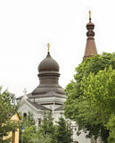 Church of the Nativity of the Blessed Virgin in Wlodawa. Poland Royalty Free Stock Images