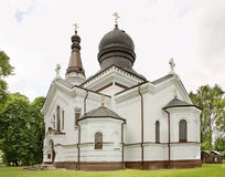 Church of the Nativity of the Blessed Virgin in Wlodawa. Poland Royalty Free Stock Photography