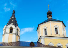 Church of  Nativity in Fishers, Russia, Tver Royalty Free Stock Images