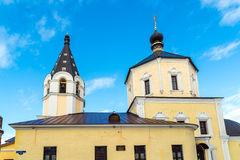 Church of  Nativity in Fishers, Russia, Tver Stock Photo