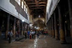 The church of the Nativity Stock Images