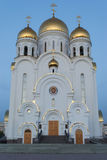 Church of the Nativity of Jesus Christ. In Krasnoyarsk Stock Photography