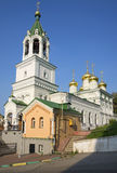 The Church of the Nativity of John the Baptist in Nizhny Novgorod Royalty Free Stock Image