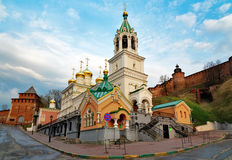 Church of the Nativity of John the Precursor in Nizhny Novgorod Stock Image