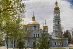 Church of the Nativity of Mother of God Stock Photo