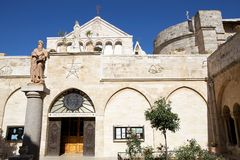 The church of the Nativity Stock Photography