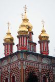 Church of the Nativity of St. John the Baptist. Gate Church of the Nativity of St. John the Baptist. Trinity Sergius Lavra monastery in Sergiev Posad, Russia Royalty Free Stock Images