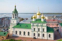 Church of the Nativity of St. John the Baptist, august day. Nizhniy Novgorod, Russia Stock Photo