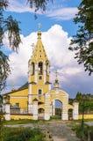 The Church of the Nativity of the Theotokos in Gorodnya, Russia Stock Photos