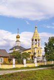 The Church of the Nativity of the Theotokos in Gorodnya, Russia Stock Images
