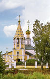 The Church of the Nativity of the Theotokos in Gorodnya, Russia Royalty Free Stock Images