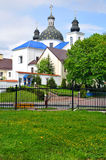 Church of the Nativity the Virgin in a convent in Grodno. Belarus Stock Image