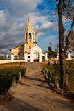 Church of the Nativity of the Virgin. stock image