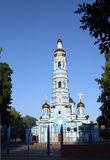 Church of Nativity Virgin in Russia Stock Photos