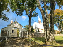 Church in Naumiestis, Lithuania Stock Image
