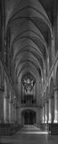 Church nave Stock Photography