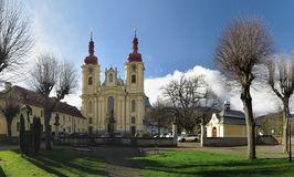 Church of Navstiveni Panny Marie in Hejnice near Liberec Stock Photos