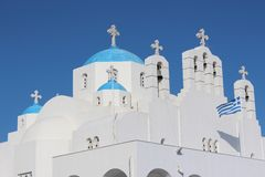 Church, Naxos, Greece Royalty Free Stock Photography