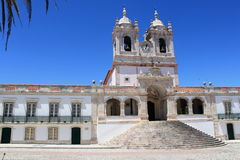 Church of Nazare. In Portugal royalty free stock photo