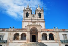 Church of Nazare, Portugal Stock Photography