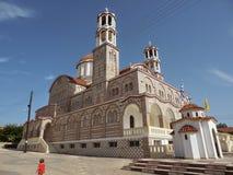 Church in Nea Poteidaia. Magnificent church in city Nea Poteidaia Greece Royalty Free Stock Images