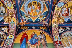 Neamt Monastery Romania royalty free stock images