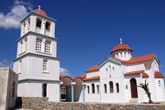 Church near Kissamos, Crete, Greece Stock Images