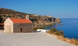 Church near Matala. Crete, Greece Stock Image