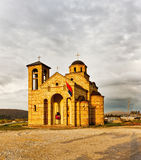 Church near Sargan Royalty Free Stock Photos