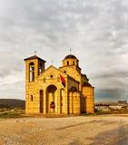 Church near Sargan royalty free stock photos