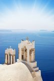 Church near the sea. (Santorini Island, Greece Stock Photos