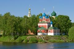 Church Near The River Stock Photos