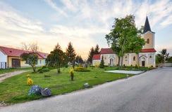 Church near village Cifer - Jarna Stock Image