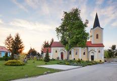 Church near village Cifer - Jarna Stock Photography