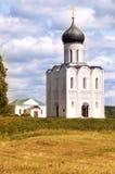 Church on the Nerl Bogolyubovo Royalty Free Stock Photo