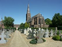 Church in The Netherlands royalty free stock photography